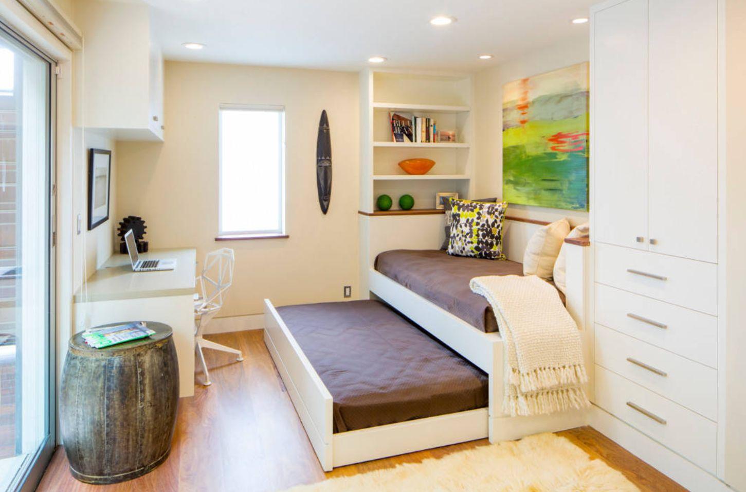 Móveis planejados: a solução para dormitórios pequenos